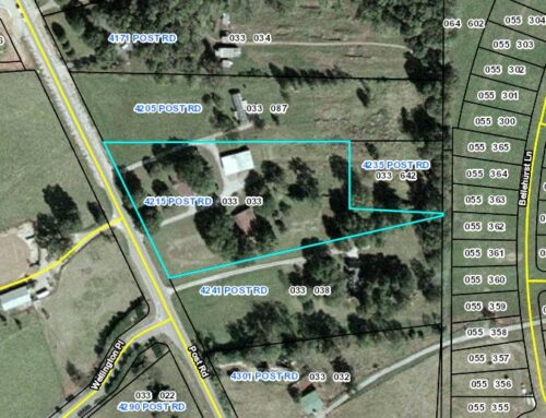 ➡4215 Post Road, Cumming GA 30040-Approximately 4.06 Acres of Potential Commercial Land, a part of an assemblage!⬅